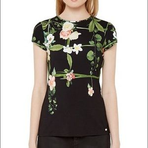 Ted baker dafnee shirt size 0 xsmall